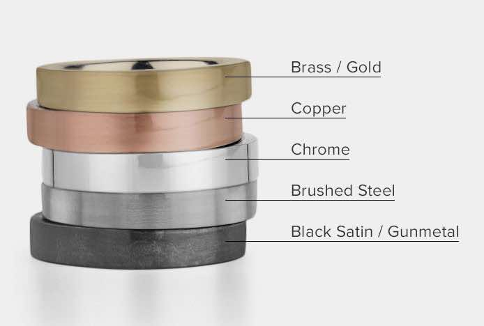 Mixing Metal Finishes