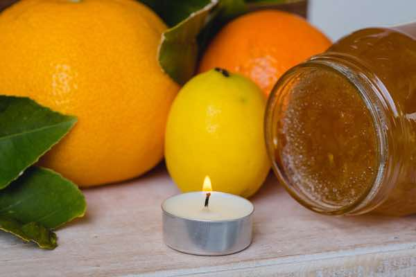 Grapefruit Marmalade Tealight